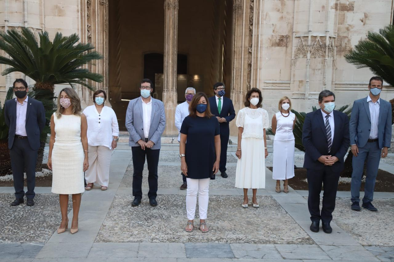 Las autoridades políticas se han reunido en Palma con los agentes sociales