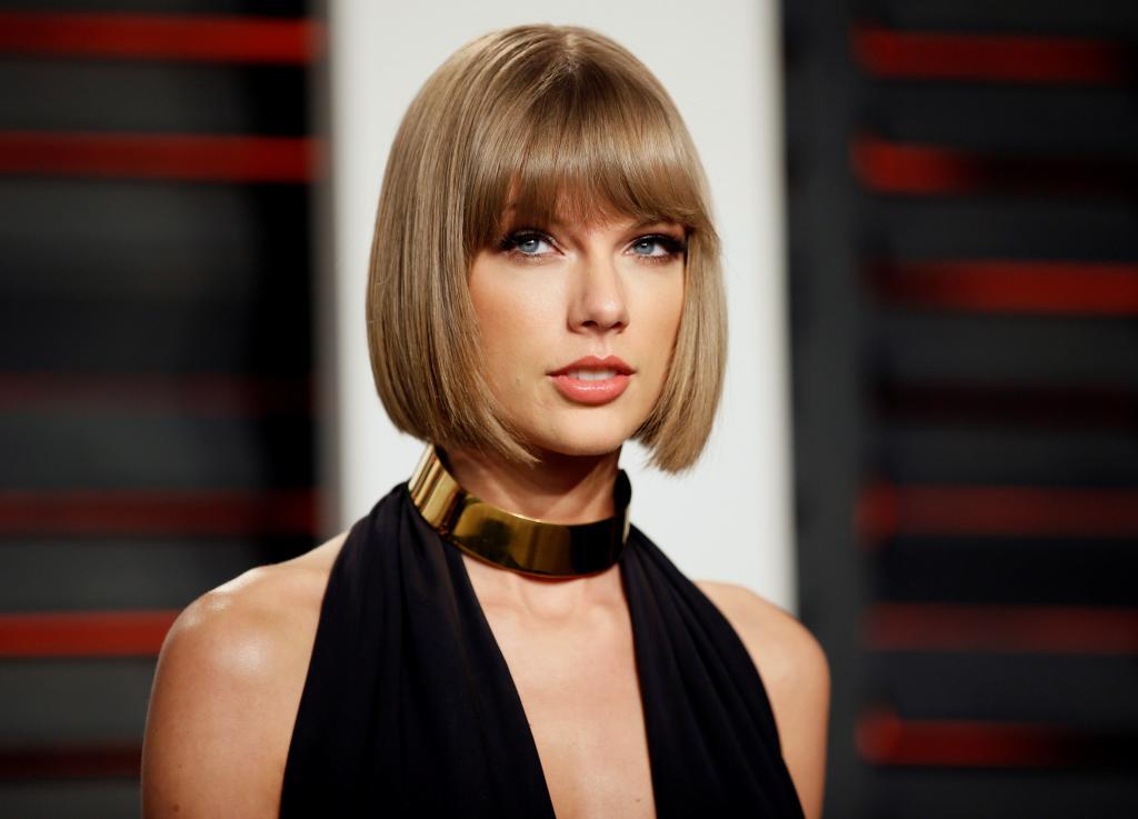Taylor Swift encabeza el ranking del estudio de Forbes
