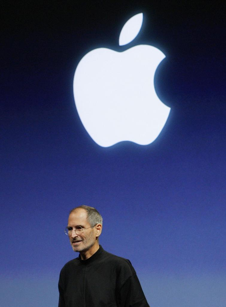 File photo of Apple Inc. CEO Steve Jobs at the end of the iPhone OS4 special event at Apple headquarters in Cupertino