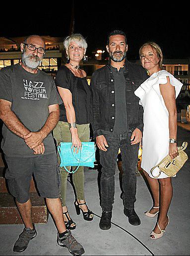 Noel Quintana, Aina Aguiló, Jaume Anglada y Sandra Horrach.