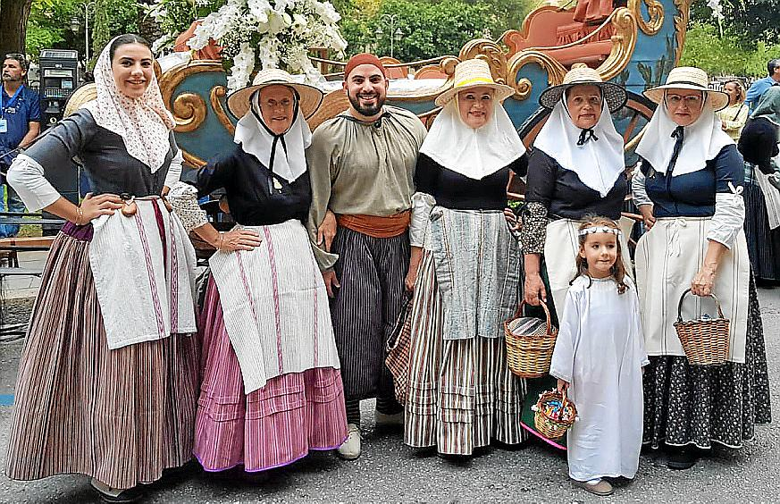 La Beateta recorre las calles de Palma