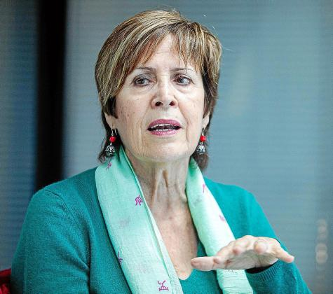 Maribel Martínez empezó como voluntaria en la asociación hace tres años.