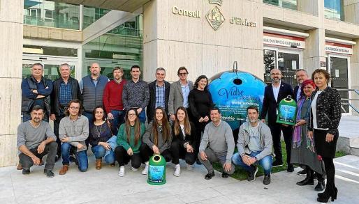'Vidrio por la posidonia', nueva campaña para fomentar el reciclaje.
