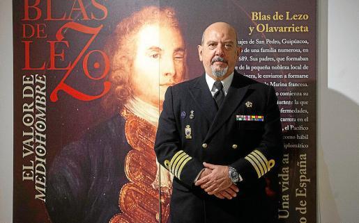 Además de la conferencia dada por Enrique Zafra, los ciudadanos pueden presenciar la muestra donde se visualiza la historia de Blas de Lezo.