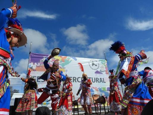 Actuación de uno de los grupos participantes en la pasada edición.