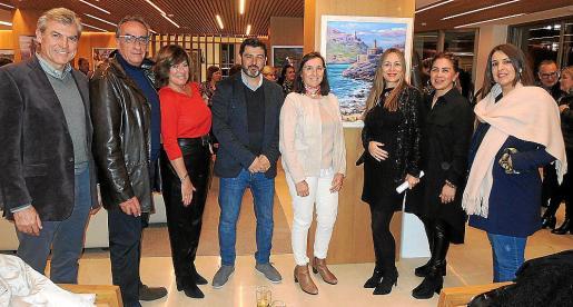 Joan Franch, Carlos Rivas, Rosa Cañas, Javier Perez, África Juan, Inma Bianchi, Elda Díaz y Ana Tello.