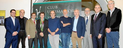 Ramón Morey, Llorenç Huguet, Carmen Serra, José Ignacio Latorre, Luis Montero, José María Vicens, Martí Ribas, Josep Ramis y Pedro Comas.