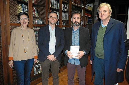 Francisca Niell, Llorenç Carrió, Bartomeu Vallori y Bartomeu Bestard.