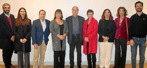 Francisco Copado, Inma Prieto, Josep Mayol, Bel Busquets, Ramón Morey, Carmen Serra, Catalina Solivellas, Carmen Planas y Mateu Malondra.