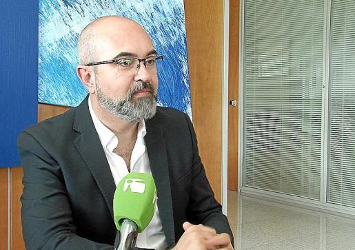 El conseller de Medi Ambient, Vicent Roig.
