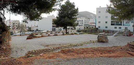 Punto en el que se encuentra el nuevo aparcamiento público.