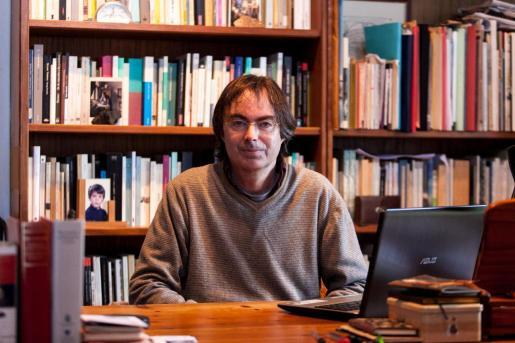 El escritor ibicenco Vicente Valero en una imagen de archivo.