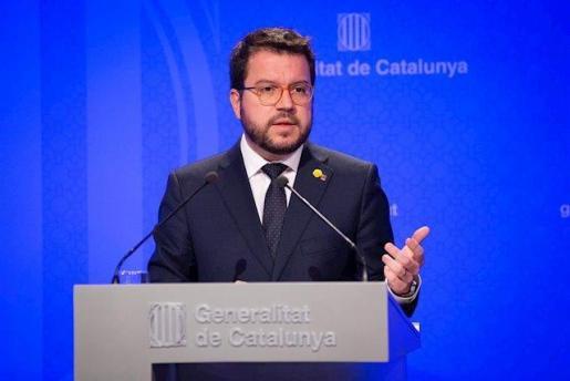 El vicepresidente y consejero de Economía y Hacienda de la Generalitat, Pere Aragonés, en una imagen de archivo-