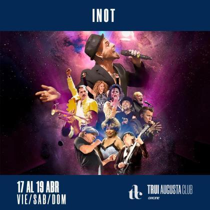 'Inot' actuará en la Sala 3 del cine Augusta.