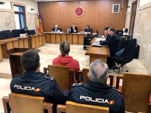 Imagen del juicio celebrado el pasado 17 de enero en la Audiencia Provincial de Palma.