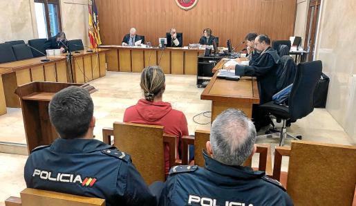 El acusado durante la vista celebrada el pasado 17 de enero en la Audiencia Provincial de Palma.