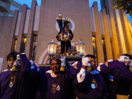 Procesión del Jesús del Gran Poder en Ibiza.