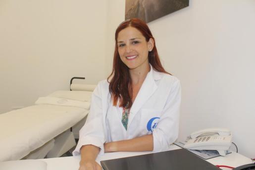 Marta Recio, durante la entrevista con Periódico de Ibiza y Formentera.