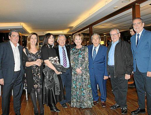 Carlos Barandalla, Ana Fageda, Ventura Bordoy, Luis Gastalver, Cati Aguiló, Pedro Iriondo, José Alcina y Joan Sastre.