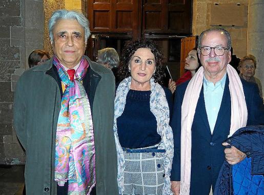 Raimundo de Montis, Toñi Jaume y Juan González de Chaves.