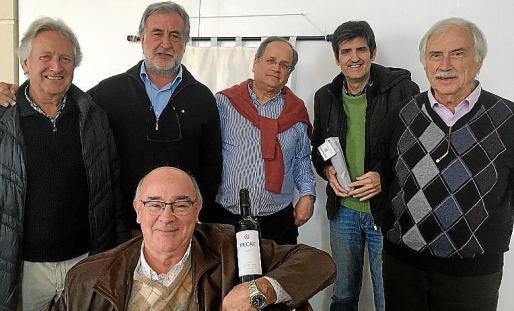 Guillem Coll, Sebastià Cañellas, Joan Pericàs, Nacho Deyà, Joan Monse y Toni Corró.