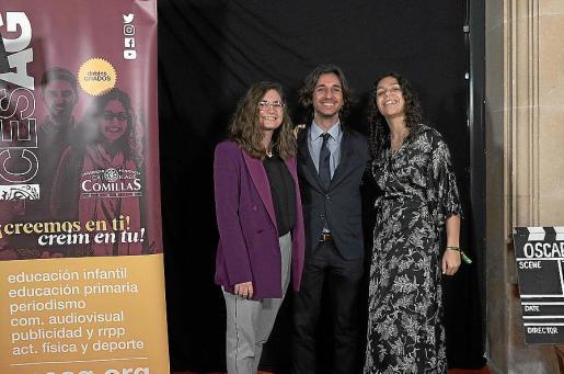 Ester Moyá, Albert Ramon y Candela Forcades.