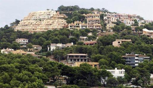 Imagen de archivo de viviendas en Baleares.