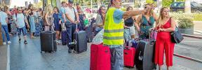 Los taxistas de Ibiza esperan llegar a un consenso con Consell y ayuntamientos