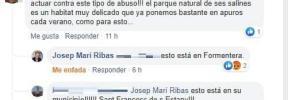 El alcalde de Sant Josep aún no se ha enterado de que hay concertinas en su municipio
