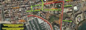 Cortes de tráfico este fin de semana en Santa Eulària por el XXVIII Duatlón
