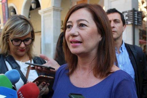 La presidenta del Govern, Francina Armengo, en una foto de archivo.