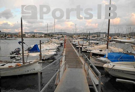 Imagen de archivo del puerto de Sant Antoni, cerrado a los barcos de pasaje.