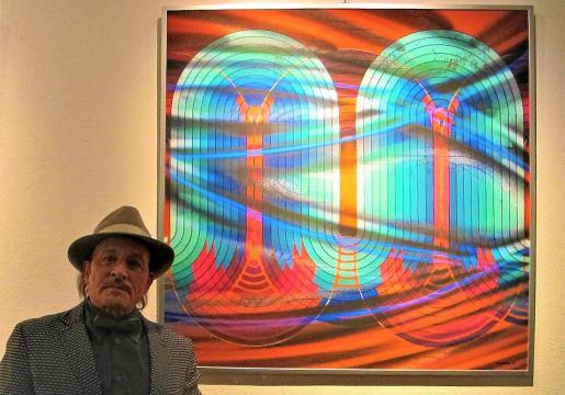 El artista presentó el viernes su exposición, compuesta por 23 obras realizadas entre 2017 y 2020 de las cuales hay arriba algunos ejemplos.