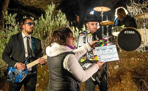 El rodaje se ha llevado a cabo el fin de semana en un bosque del municipio de Sant Josep.