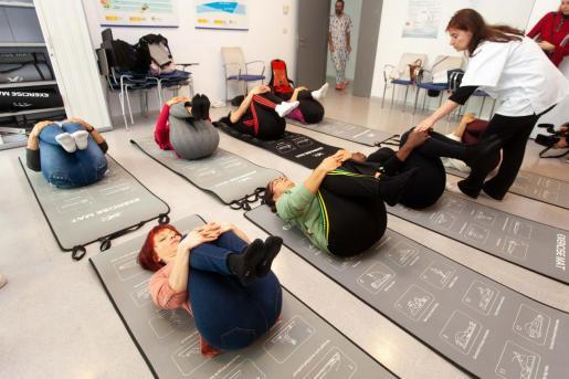 Una de las actividades que han realizado las camareras de piso.
