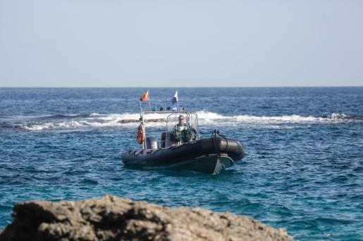 Imagen de archivo de efectivos de los GEAS en Ibiza.