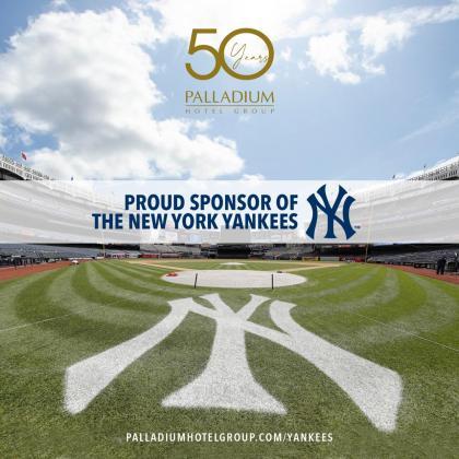 Palladium, nuevo patrocinador de los New York Yankees.