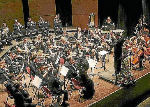 Imagen de archivo de la Banda Simfònica Ciutat d'Eivissa.