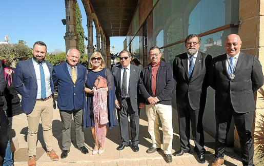 Sergio David Pérez, Juan Fernández, Mariví García-Velasco, José Martínez, Juan Cabrera, Pedro Anaya y Juan Parra.