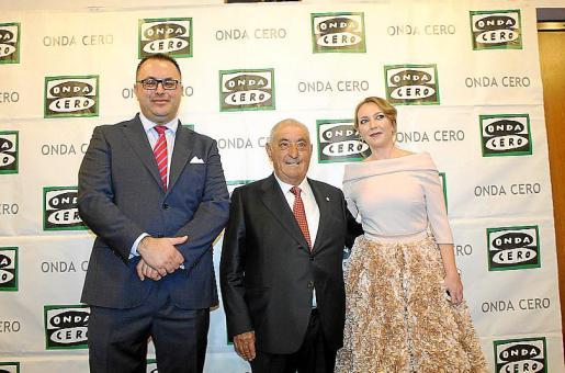 Juan Carlos Enrique Forcada, Juan José Hidalgo y Elka Dimitrova.