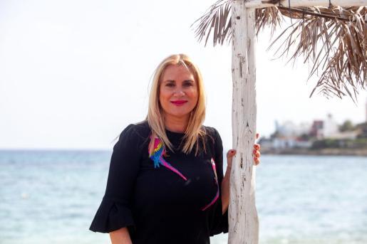 Marta Díaz, en Talamanca, el pasado viernes.