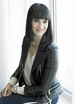 Irene Villa posa en una foto para Periódico de Ibiza y Formentera.