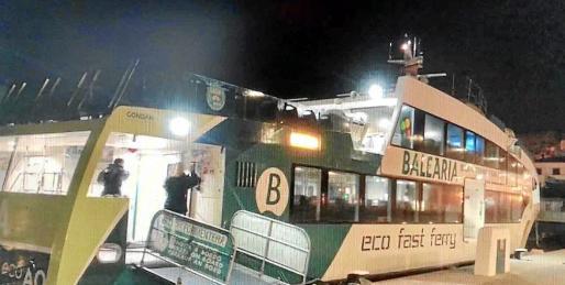 En el primer trayecto de las 06.00 horas viajaron tres pasajeros.