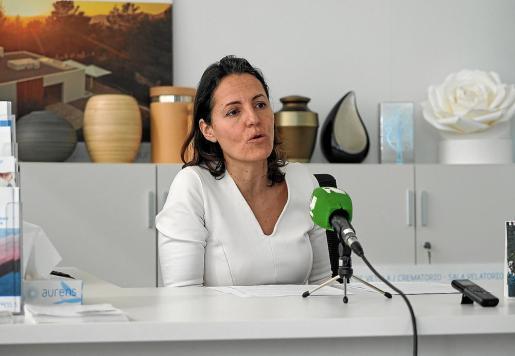 La gerente de Aurens, Mónica Miranda, hace balance de los cuatro años de la empresa en Ibiza.