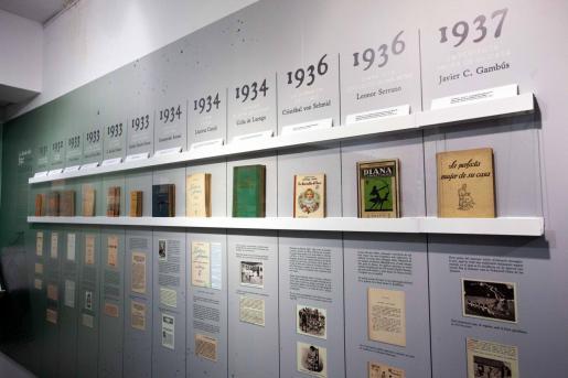 La exposición que se puede ver en Sa Nostra Sala tiene muchísimo material propiedad de Joan Albert Ribas y ha sido comisionada por él mismo y Maria Rosa Ribas.
