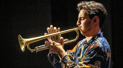 Imagen promocional del músico Pere Navarro, quien actúa el sábado en el festival Jazz Point Ibiza.
