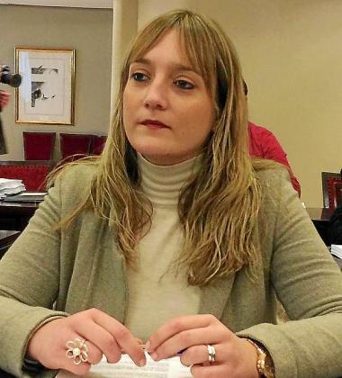 La diputada del PP Tania Marí, en una imagen de archivo.