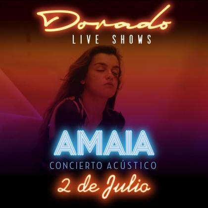 Cartel promocional del concierto.