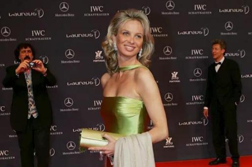 Corinna Zu Sayn Wittgenstein durante los Premios Laureus del Deporte celebrados en Estoril (Portugal), a 16 de mayo de 2015.