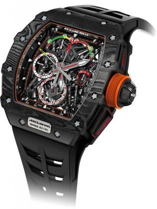 Imagen de un reloj de la marca Richard Mille 50-03 MCLaren F1.